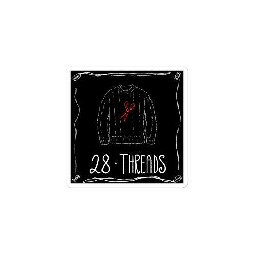 Episode 28 -  Threads - 3x3 Sticker