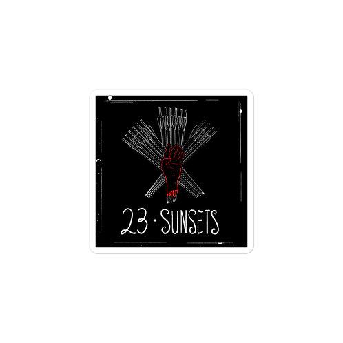 Episode 23 -  Sunsets - 3x3 Sticker