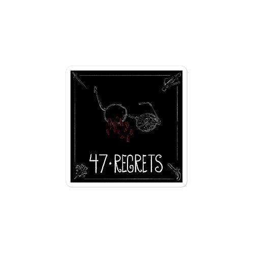 Episode 47 - Regrets - 3x3 Sticker