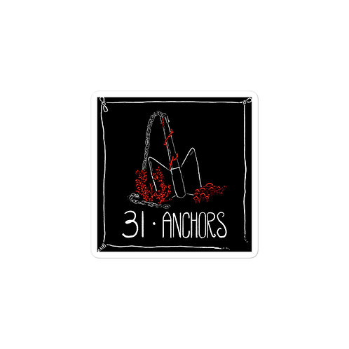 Episode 31 -  Anchors - 3x3 Sticker