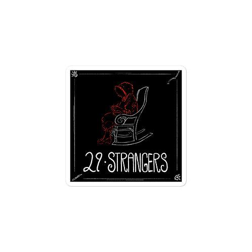Episode 29 -  Strangers - 3x3 Sticker