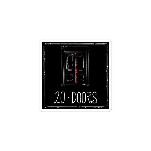 Episode 20 -  Doors - 3x3 Sticker