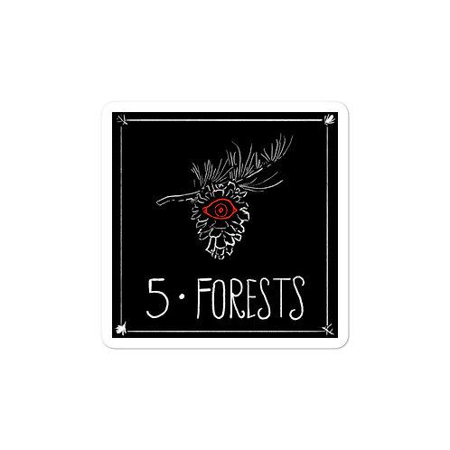 Episode 5 - Forests 3x3 Sticker