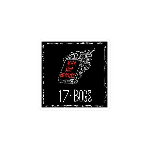 Episode 17 -  Bogs - 3x3 Sticker