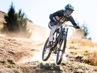 Sebastián Alfaro se afianza en el liderazgo del Nacional de Downhill