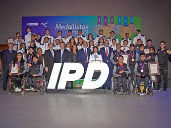 IPD ENTREGÓ MÁS DE DOS MILLONES Y MEDIO DE SOLES A MEDALLISTAS LIMA 2019