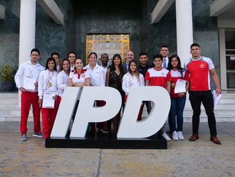 Deportistas del judo y karate recibieron reconocimiento del IPD