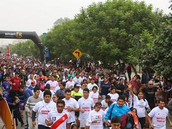 Más de 10 mil personas participaron de la Carrera Deporte Perú 5K