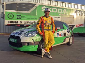 Mario Hart listo para el Campeonato Rally Mobil de Chile