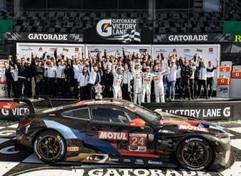 La alianza entre Motul y BMW triunfa en las 24 Horas de Daytona