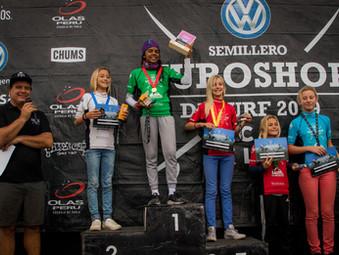 Arena Rodríguez logra tres títulos en el Circuito Semillero Euroshop