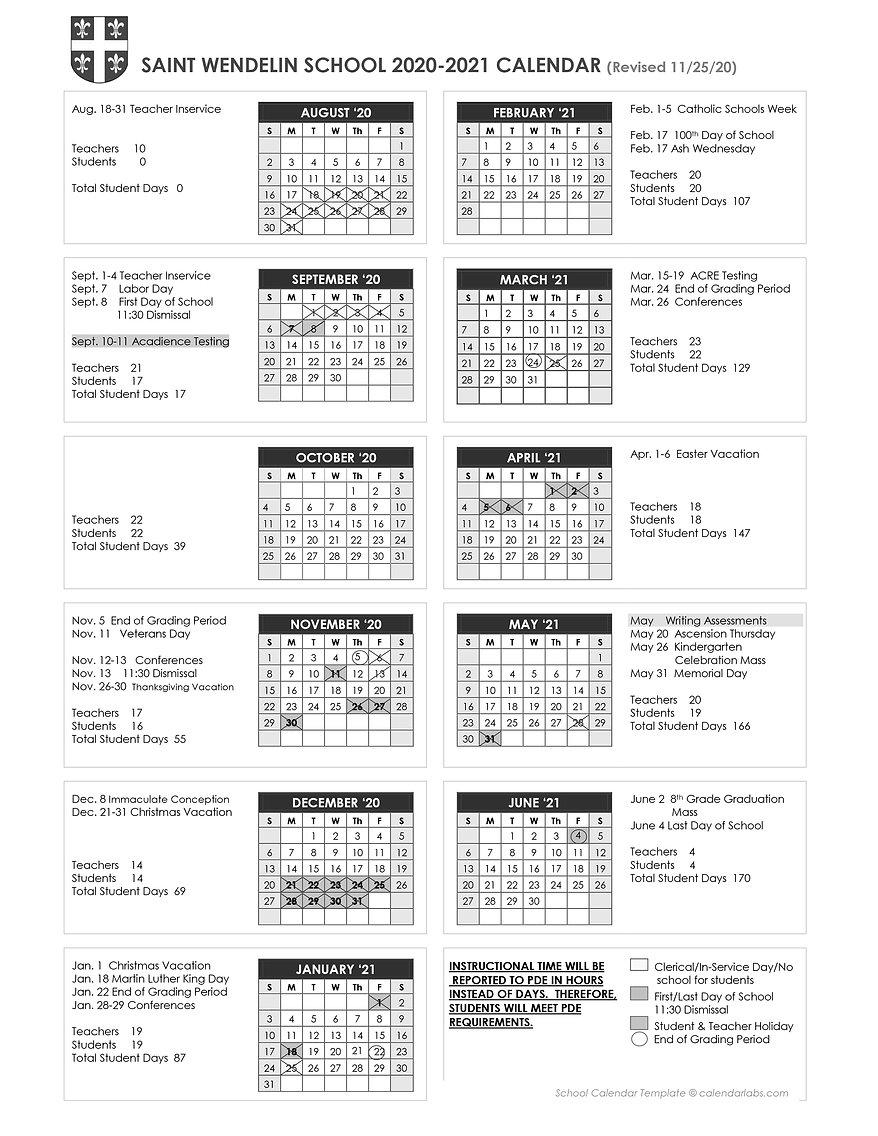 2020-21 School Calendar-9-8 start date-R