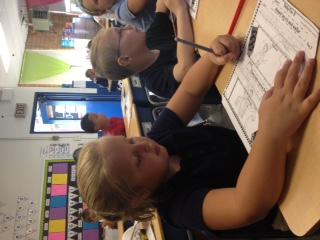 Saint Wendelin 2nd grade Language Arts Class