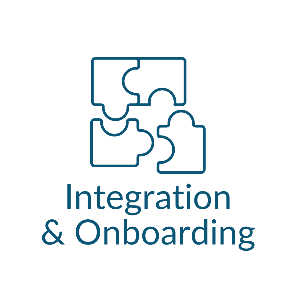 Integration and Onboarding