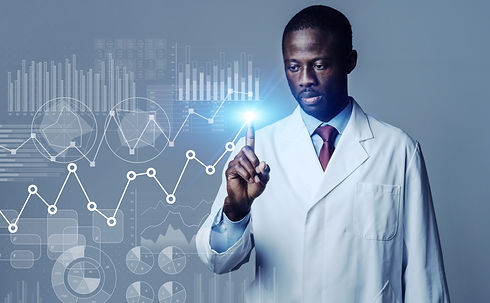 Science technology concept. Scientific e