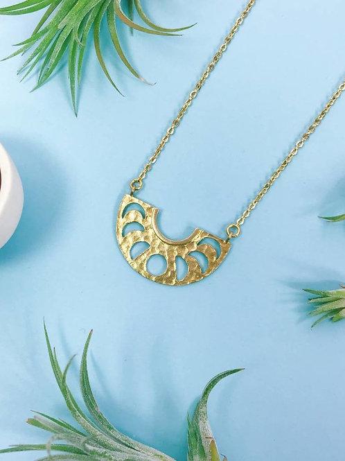 Nicole Weldon Moon Phases Necklace