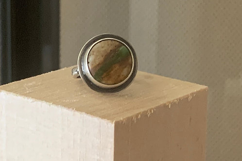 Roystone Ring- InspiredMetalDesigns