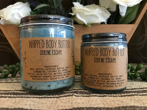 Mama Bare Naturals Serene Escape Whipped Body Butter
