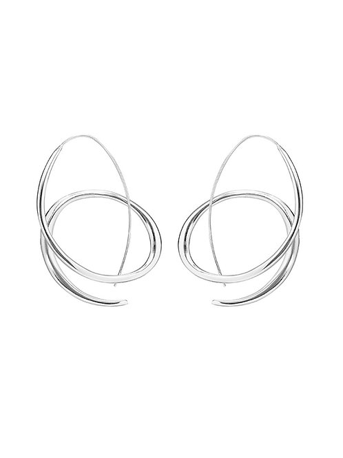 Large Paveena Hoops