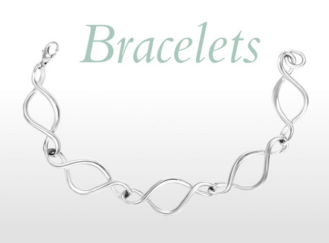 Bracelets in Silver, Gold and Platinum by Sarah Jordan Jewellery