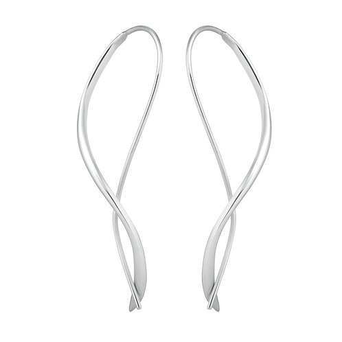 Shadow Hoop Earrings