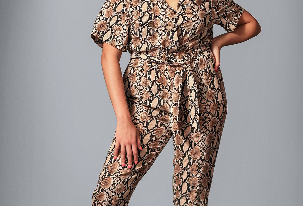 Snake Bite Jumpsuit