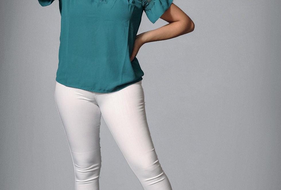 Teal Tina Shirt