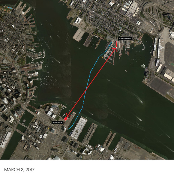 AW to design the ICA/Boston's Watershed, an adaptive re-use project on the East Boston waterfront