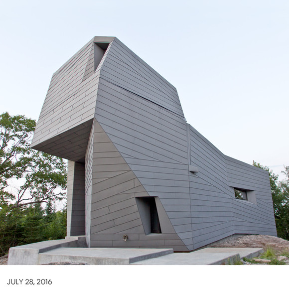 AW's Gemma Observatory has been selected for a Design Excellence Honor Award from the Boston Society of Architects
