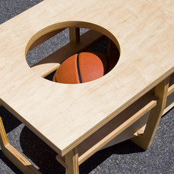 Basketball Bench