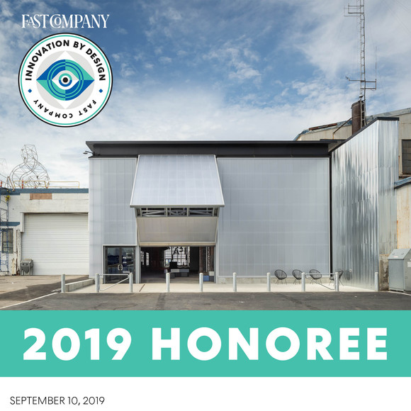 The ICA Watershed has been recognized by Fast Company's Innovation by Design Awards: Spaces, Places and Cities