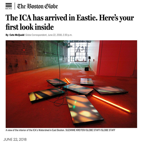 The Boston Globe's first look inside the ICA/Boston's Watershed