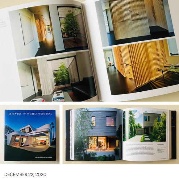 """Courtyard House part of """"150 NEW BEST OF THE BEST HOUSE IDEAS"""" book"""
