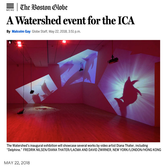 The Boston Globe previews ICA/Boston's Watershed project, designed by AW
