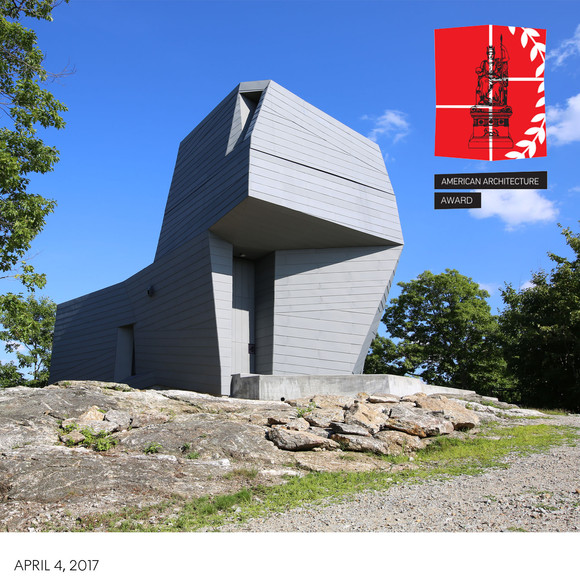 Gemma Observatory wins 2017 American Architecture Award from the Chicago Athenaeum Museum of Architecture and Design
