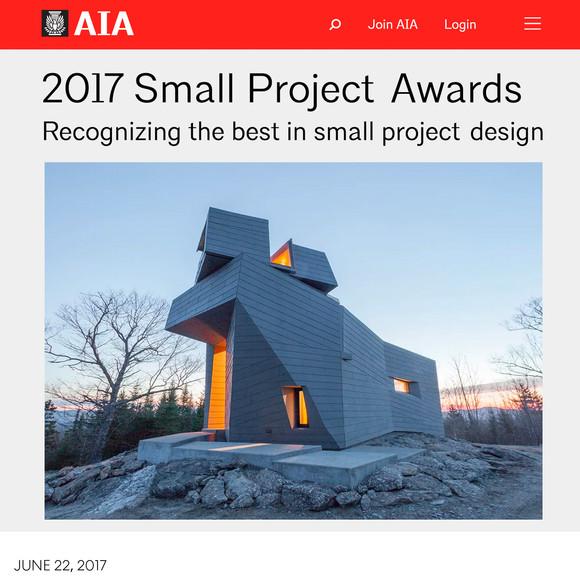 Gemma Observatory wins AIA Small Project Award