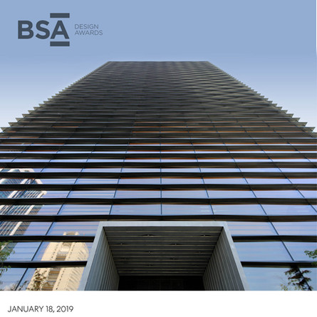Ankara Office Tower wins 2018 BSA Honor Award