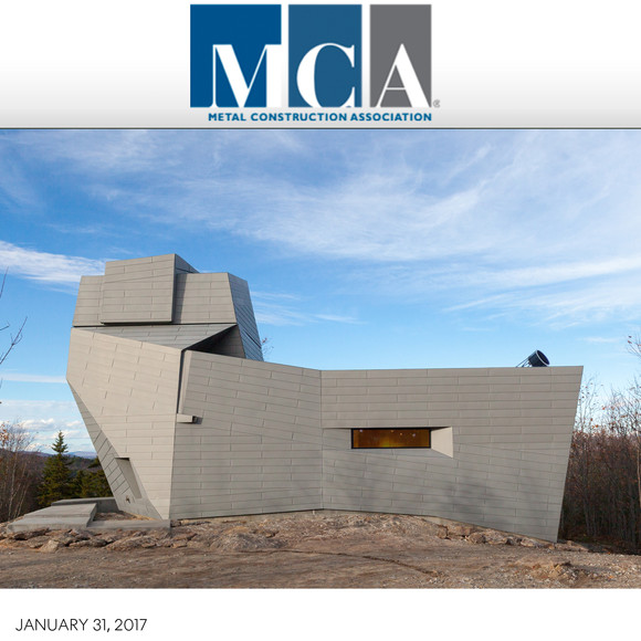 Gemma Observatory wins 2016 MCA Chairman's Award for Overall Excellence