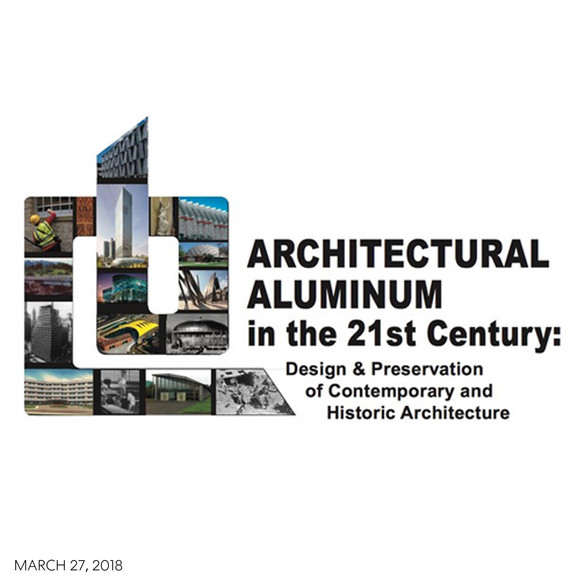 Alex Anmahian speaks at BSA's two day conference on Architectural Aluminum in the 21st Century