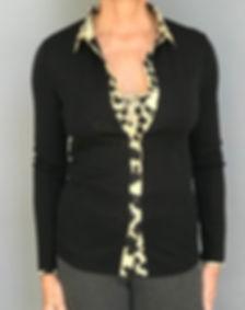 Women's Italian Merino/Wool Dressy Shirt