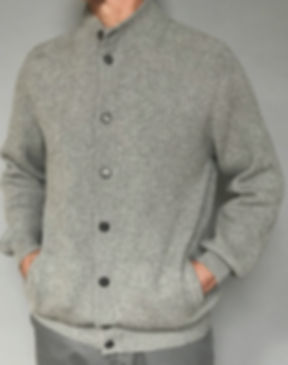 Highest Quality Men's Italian Cashmere Cardigan