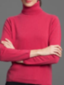 Women's Highest Quality Cashmere Turtleneck