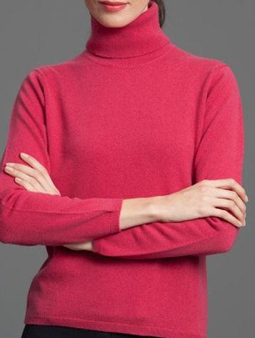Women's Highest Quality Cashmere Turtleneck