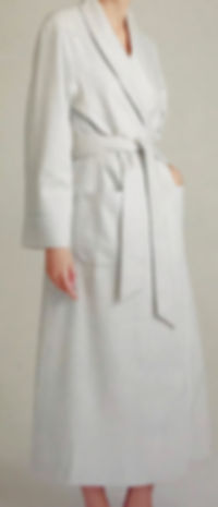 Silk Lined Woven Cashmer Robe