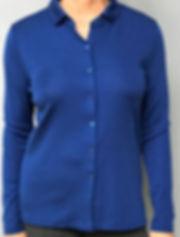 Women's Italian Merino/Silk Shirt