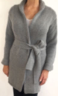 Women's High Quality Cashmere Coat Sweater