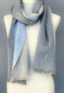 Cashmere/Silk Doubleface Scarf