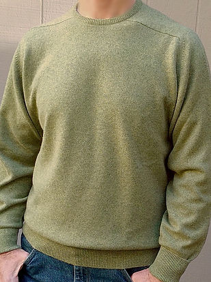 Men's Scottish Cashmere Crewneck Pullovers