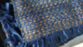 handwoven silk ribbon scarf