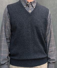 Men's Lambswool Vest
